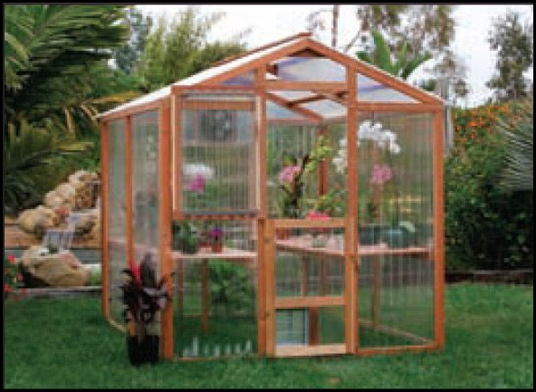 Corrugated Plastic Greenhouse Panels
