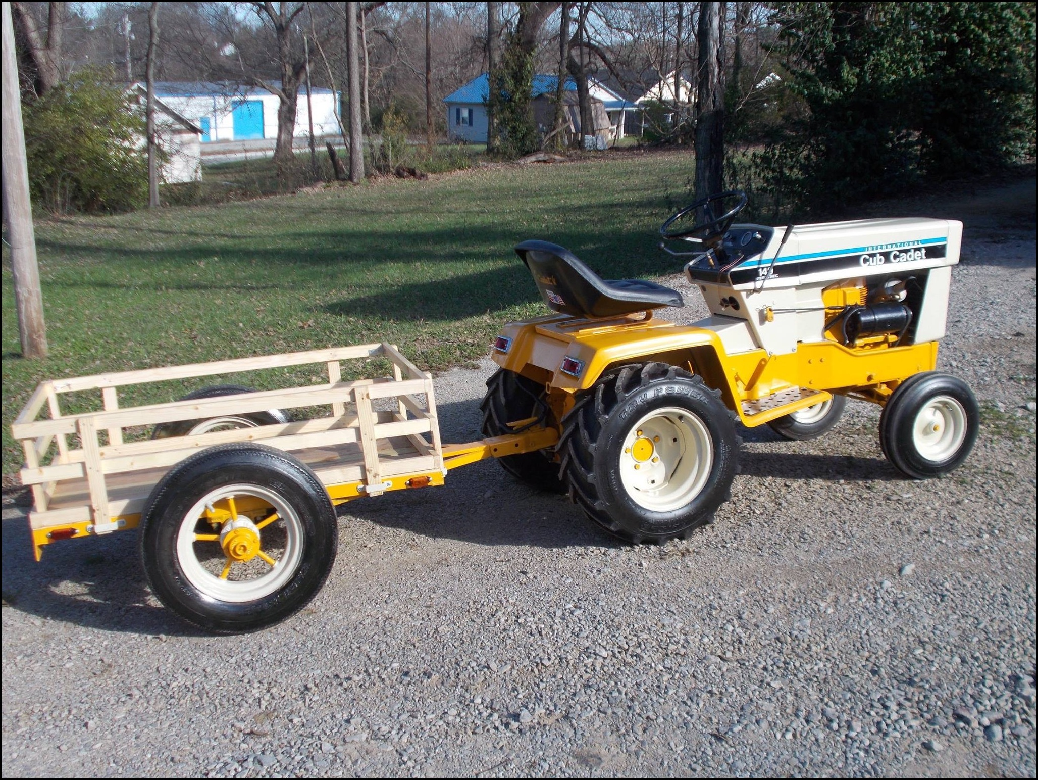 Cub Cadet Garden Tractor Attachments