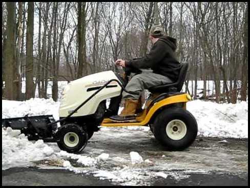 Cub Cadet Snow Plow