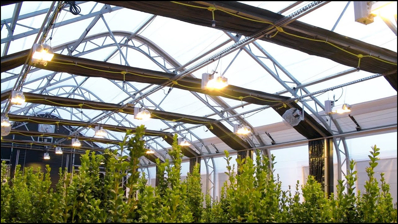 Fully Automated Light Deprivation Greenhouses