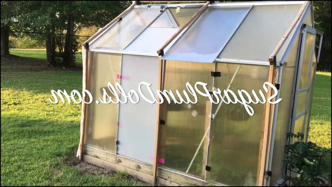 Harbor Freight Greenhouse Replacement Panels