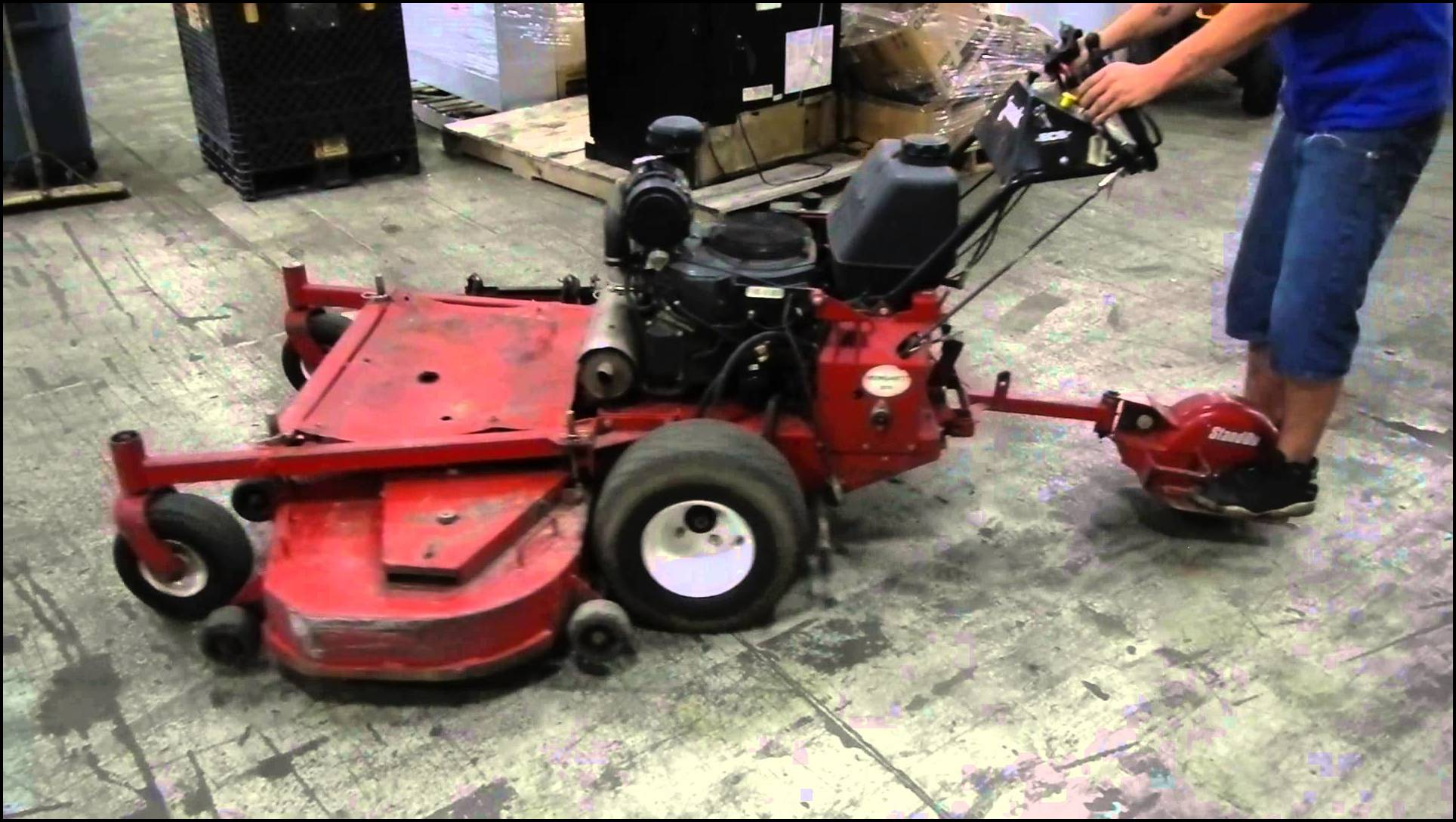 Stand Behind Lawn Mower