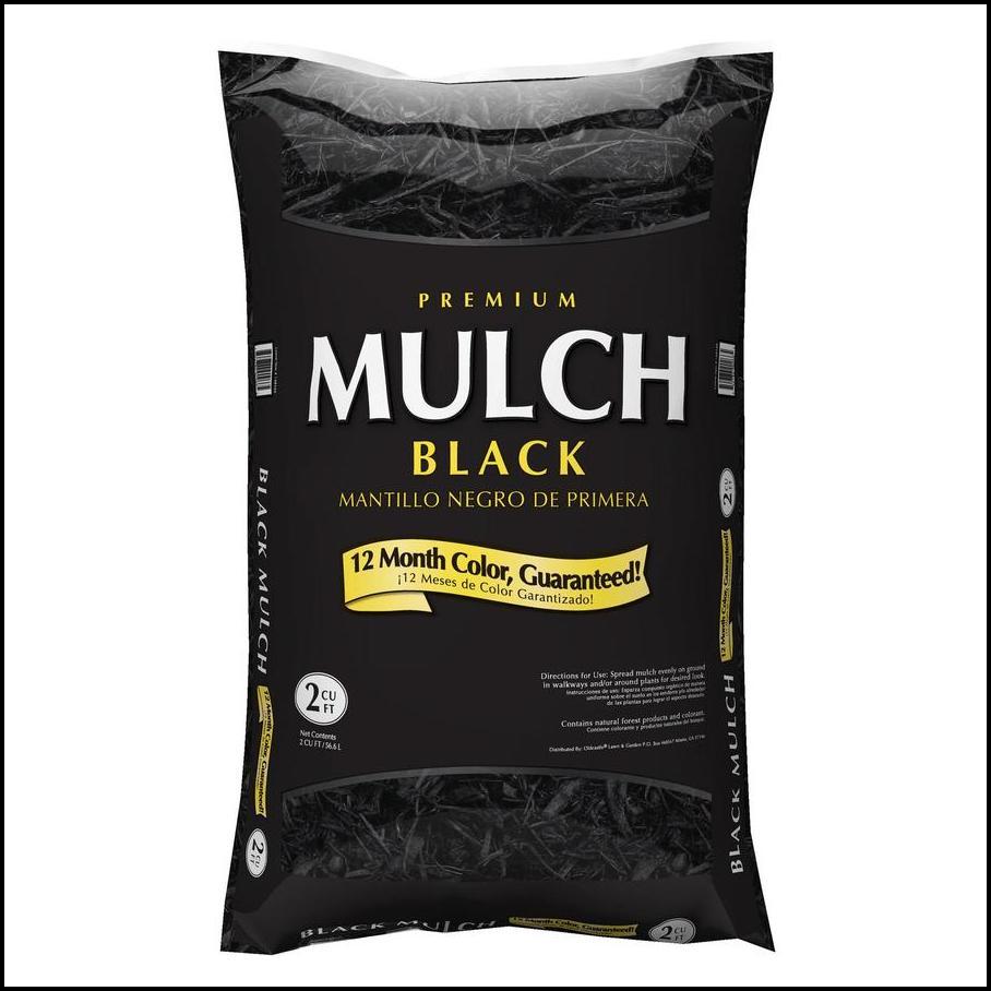 Lowes Black Mulch Sale