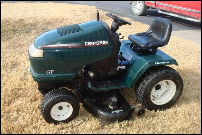 1998 Craftsman Riding Lawn Mower | The Garden