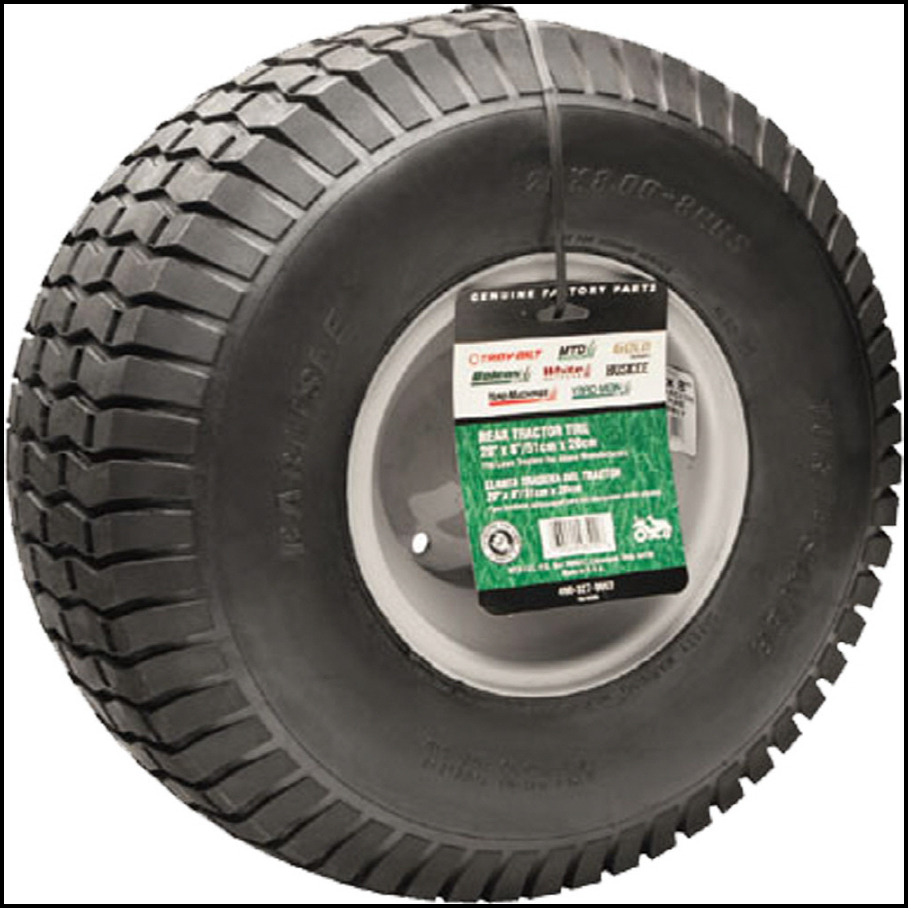 20 X 8 Lawn Mower Tire