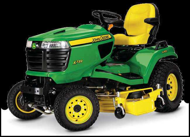 4 Wheel Drive Riding Lawn Mower