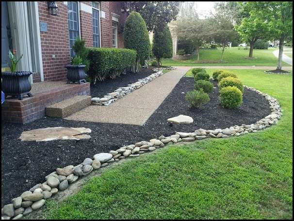 Black Lava Rock Landscaping - Black Lava Rock Landscaping The Garden