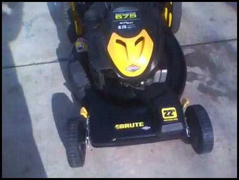 Brute 22 Self Propelled Lawn Mower