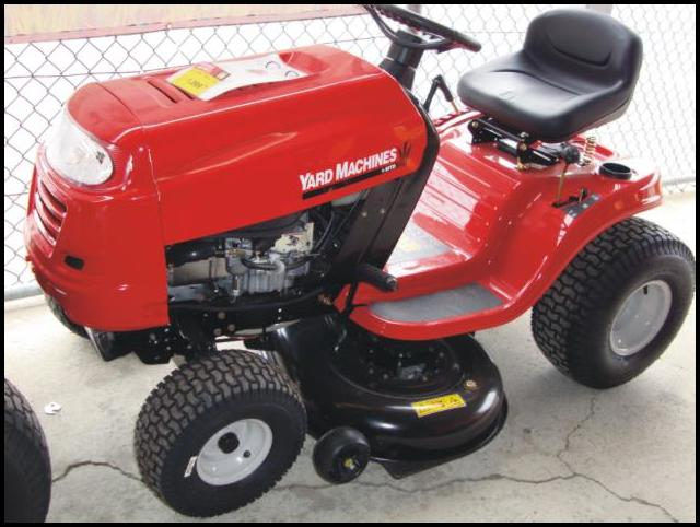 Clearance Riding Lawn Mowers
