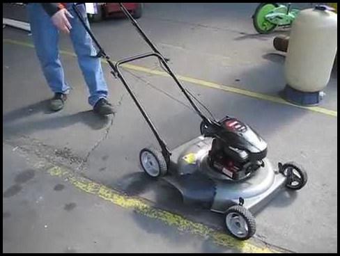 Craftsman 550 Series Lawn Mower