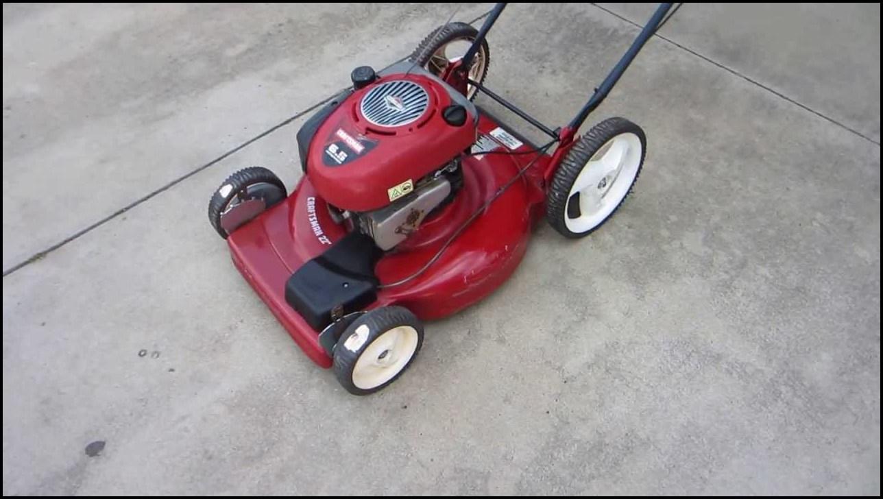 Craftsman 625 Series Lawn Mower Parts