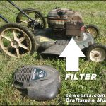 Craftsman Lawn Mower Air Filter Replacement