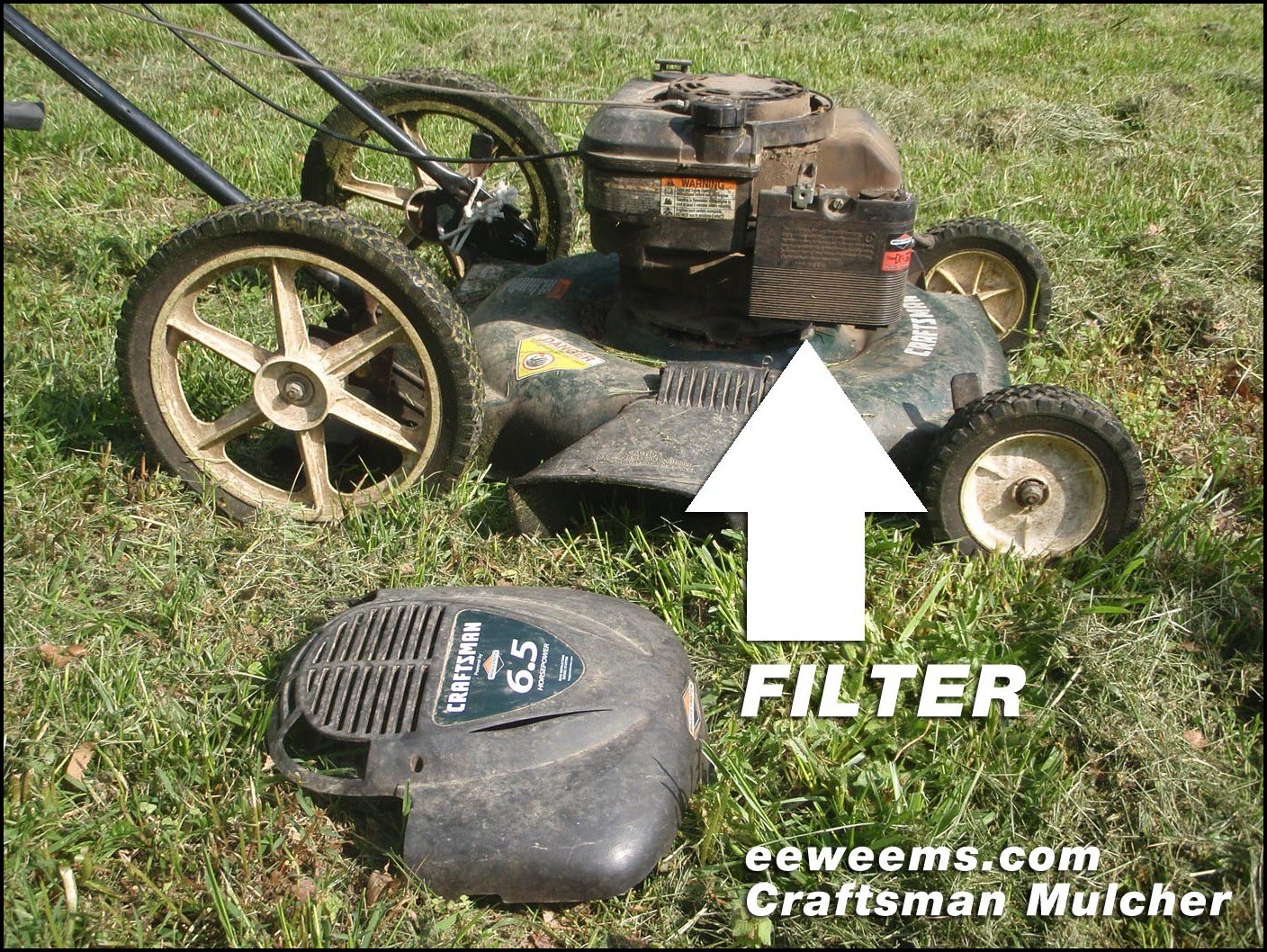 Craftsman Lawn Mower Model 917 Parts