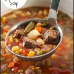 Crock Pot Vegetable Beef Soup