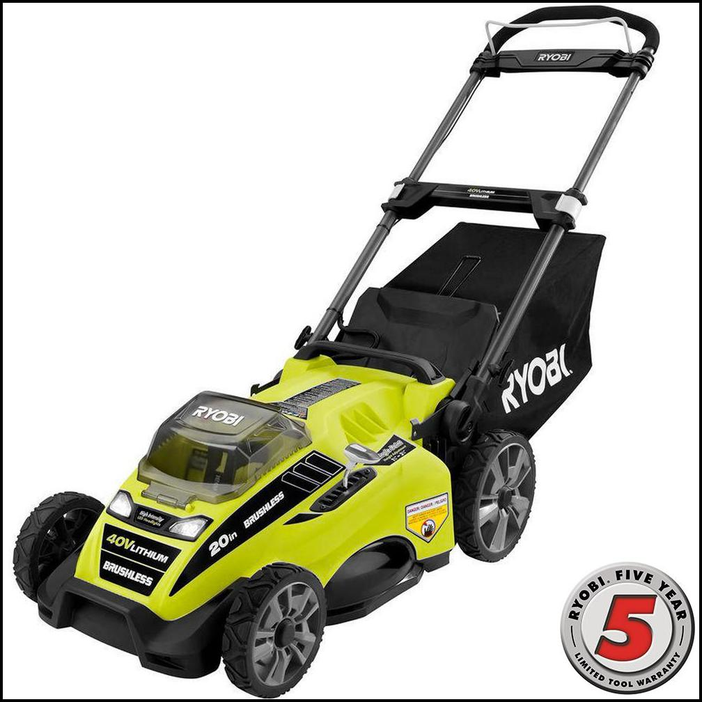 Electric Lawn Mowers Home Depot
