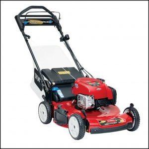 Electric Start Lawn Mowers Self Propelled