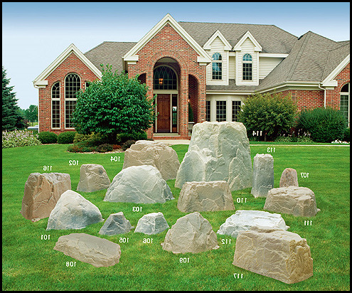Fake Rocks For Landscaping