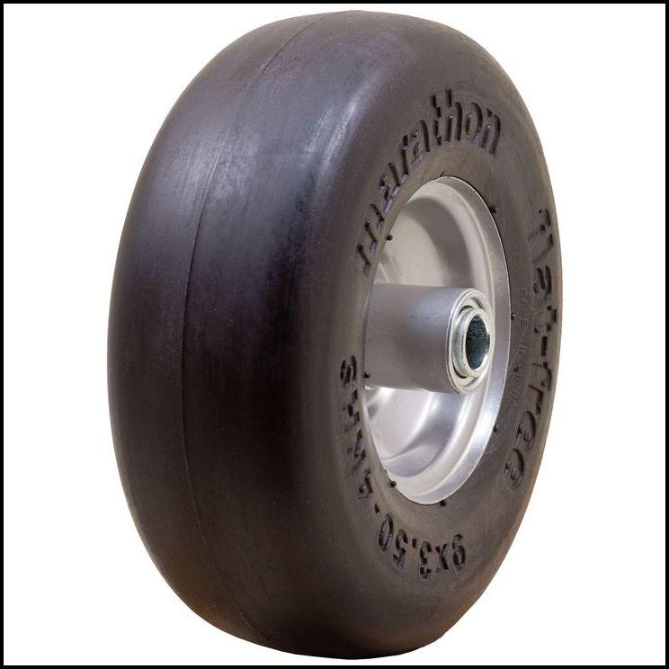 Flat Free Lawn Mower Tires