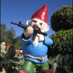 Garden Gnome With Gun