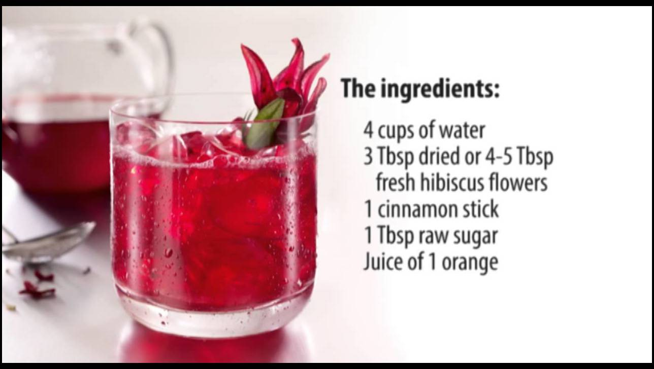 Hibiscus Tea For High Blood Pressure