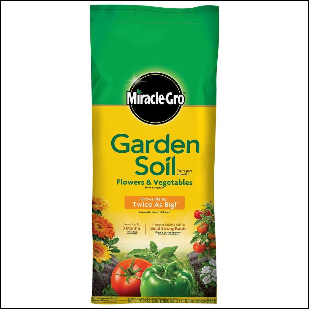 Home Depot Garden Soil