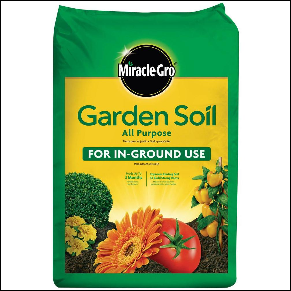 Home Depot Miracle Gro Garden Soil