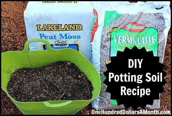 How To Make Potting Soil