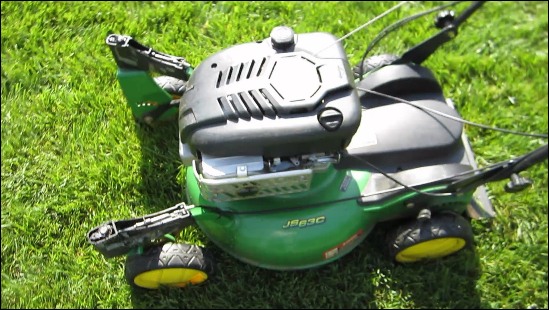 John Deere Self Propelled Lawn Mowers