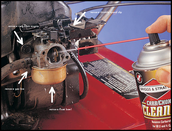 Lawn Mower Carburetor Cleaner