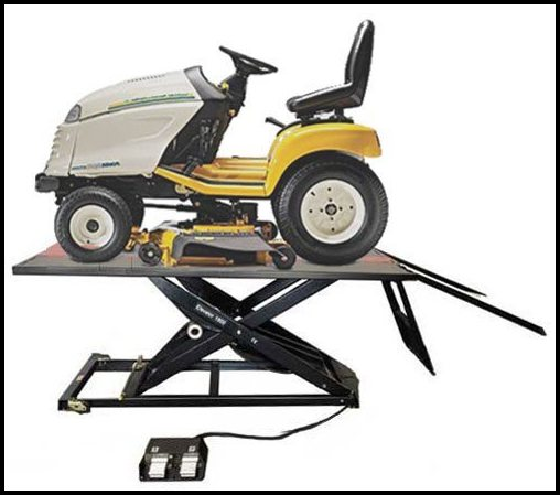 Lawn Mower Lift Table