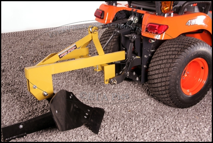 Lawn Mower Plow Attachment