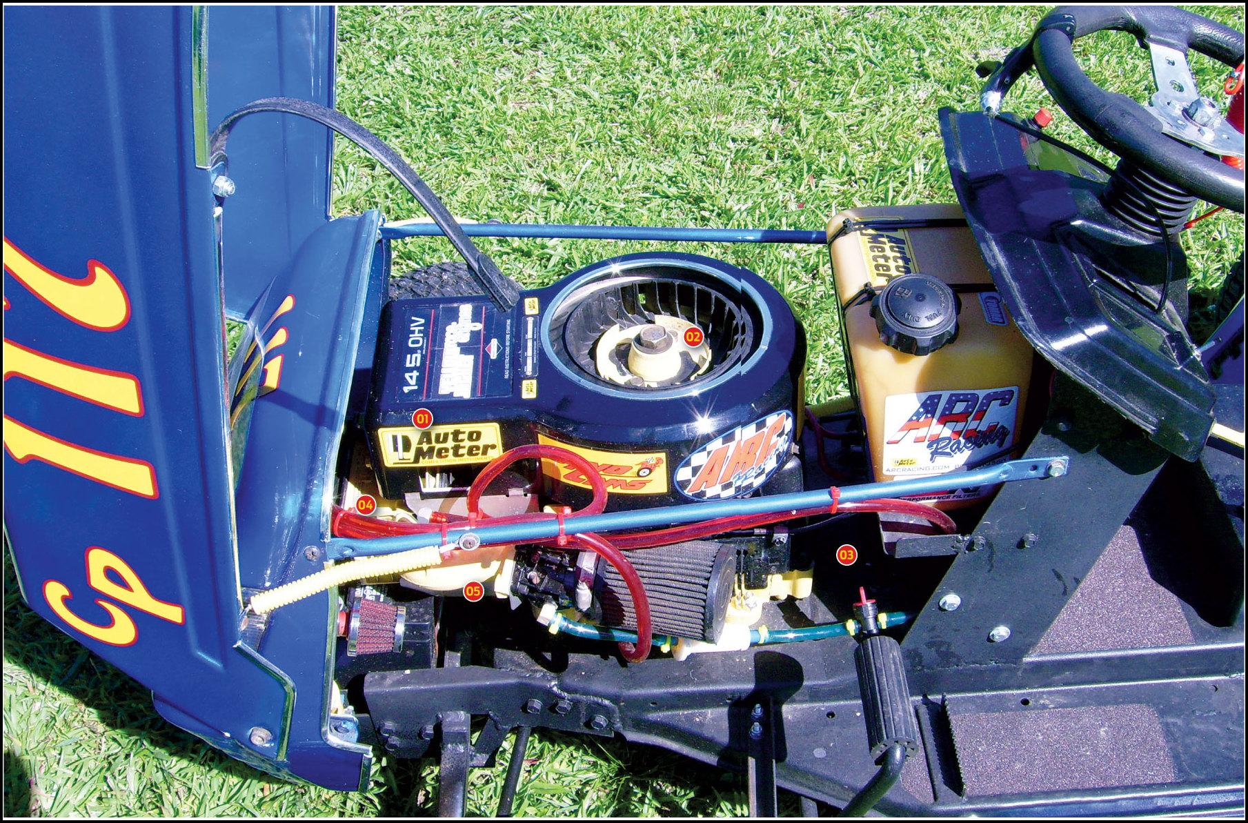 Lawn Mower Racing Engines