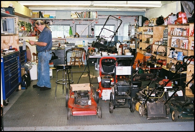 Repair Shops Near Me >> Lawn Mower Repair Shop Near Me The Garden