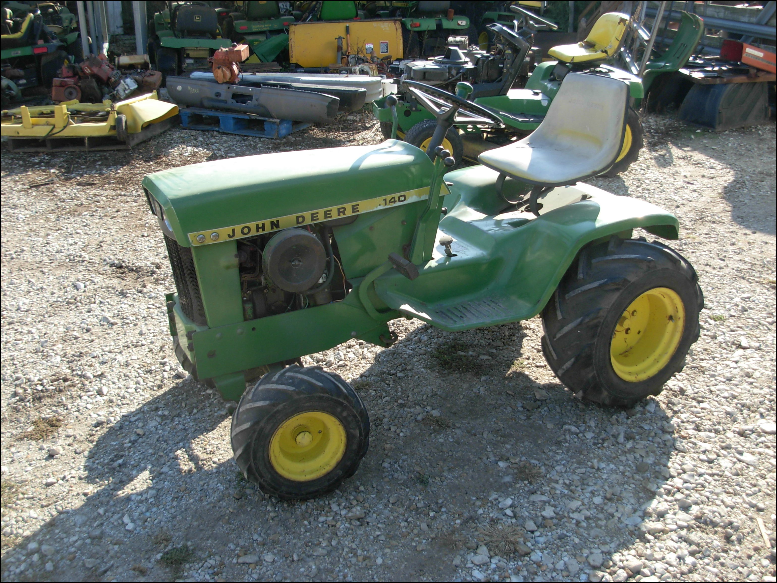 Lawn Mower Tractor For Sale Used