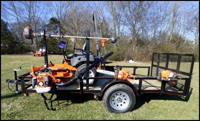Lawn Mower Utility Trailer