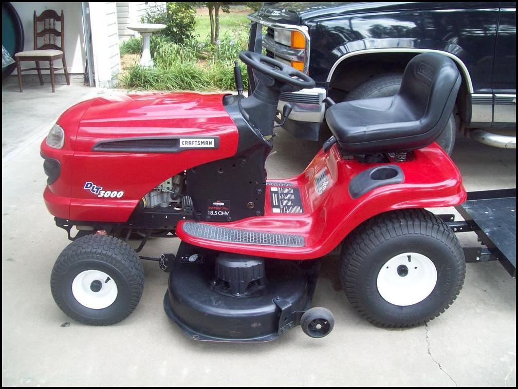 Lt3000 Craftsman Lawn Mower