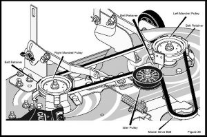 Murray Lawn Mower Deck Parts