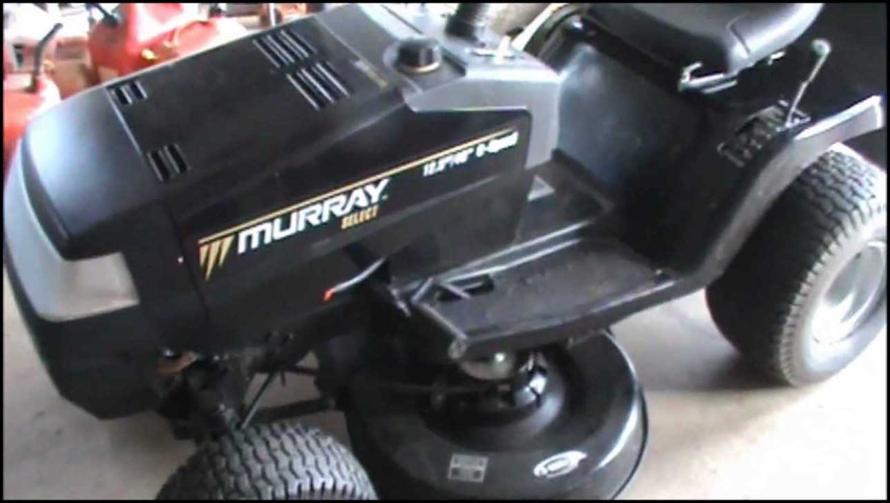 Murray Select Riding Lawn Mower Parts : Murray select riding lawn mower the garden