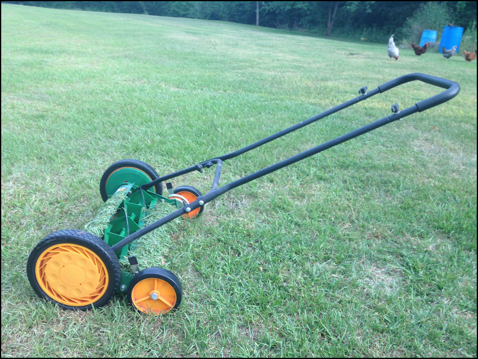 No Gas Lawn Mower