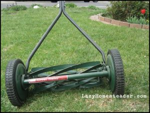 No Motor Lawn Mower