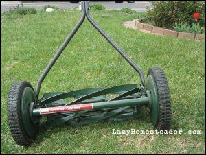 Non Motor Lawn Mower