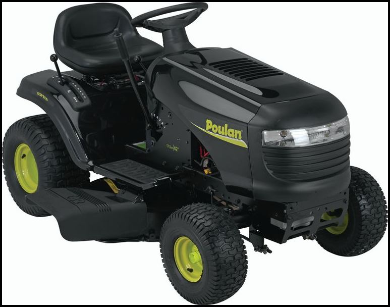 Poulan Riding Lawn Mower Parts