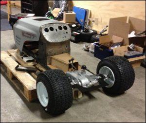 Racing Lawn Mower Build