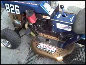 Racing Lawn Mower For Sale