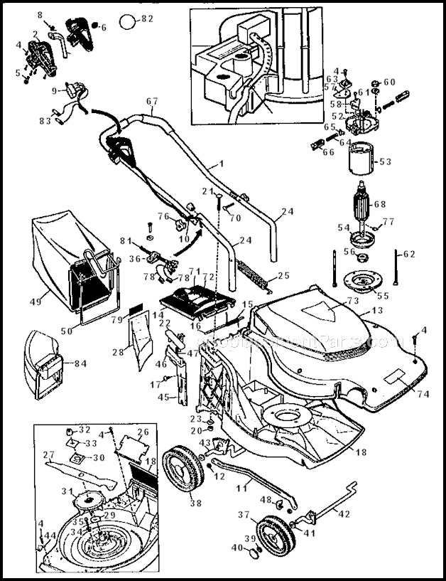 Sear Lawn Mower Parts