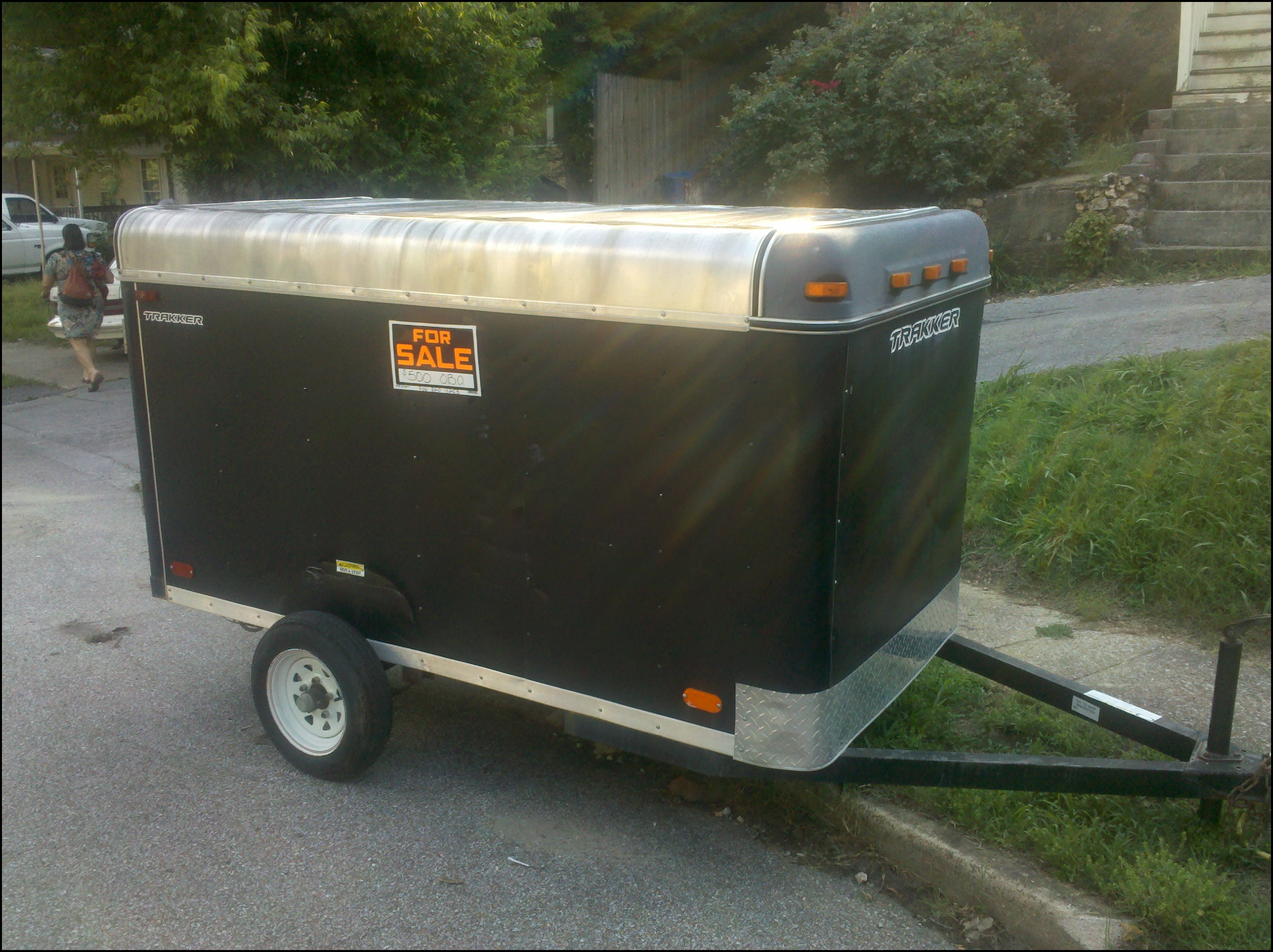 Small Lawn Mower Trailer