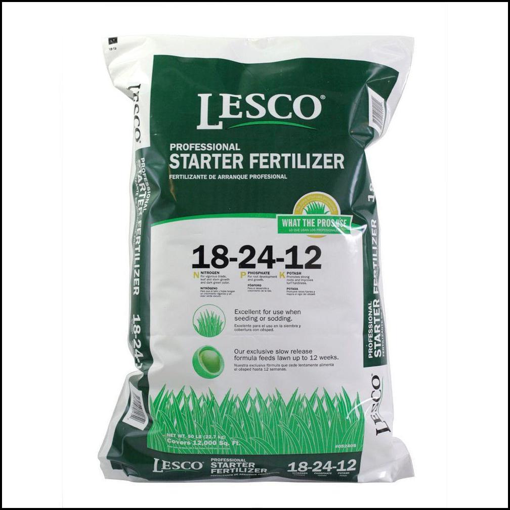 Starter Fertilizer For Grass Seed