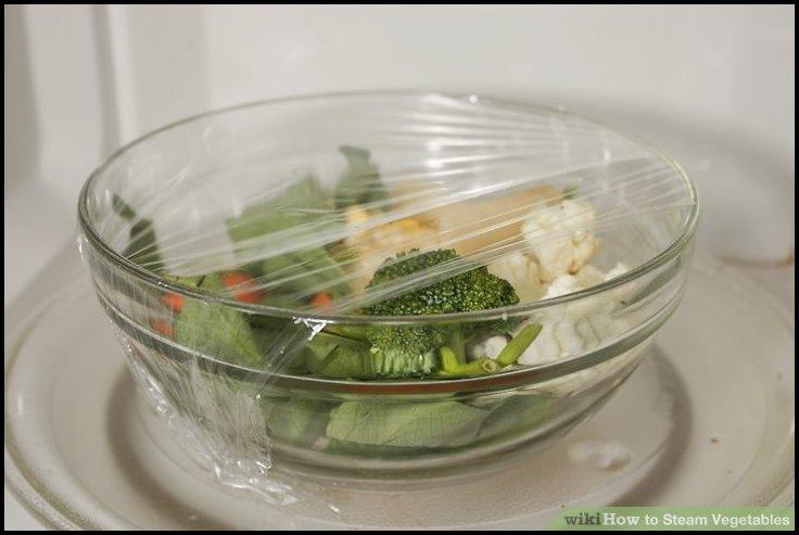Steam Vegetables In Microwave