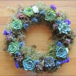 Succulent Wreath For Sale