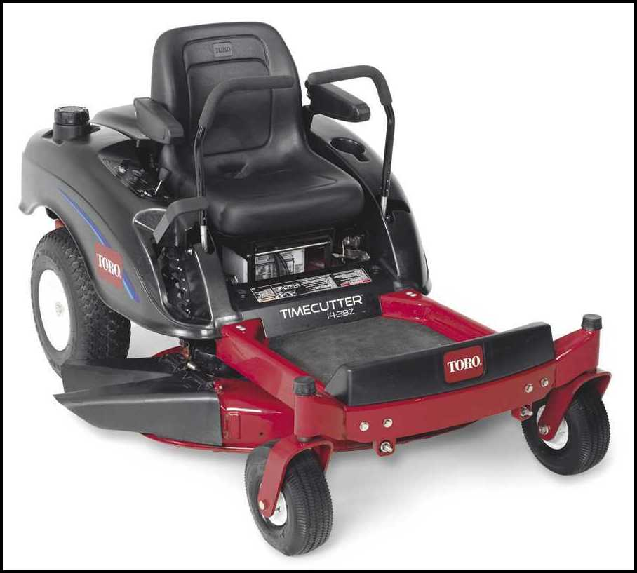 Toro Riding Lawn Mower Parts